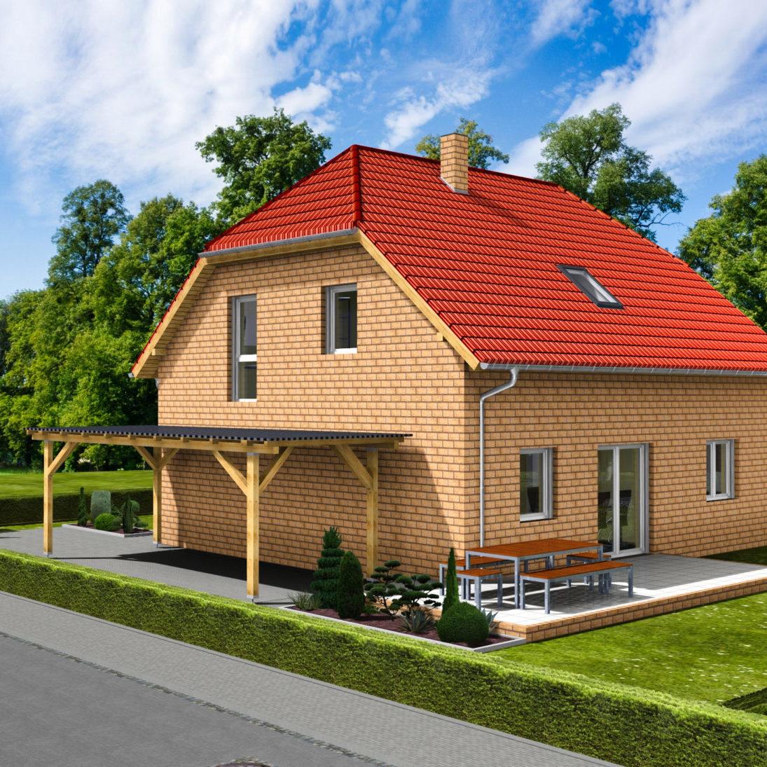 EFH Döring-Lindner 141_3D Carport-Terrasse